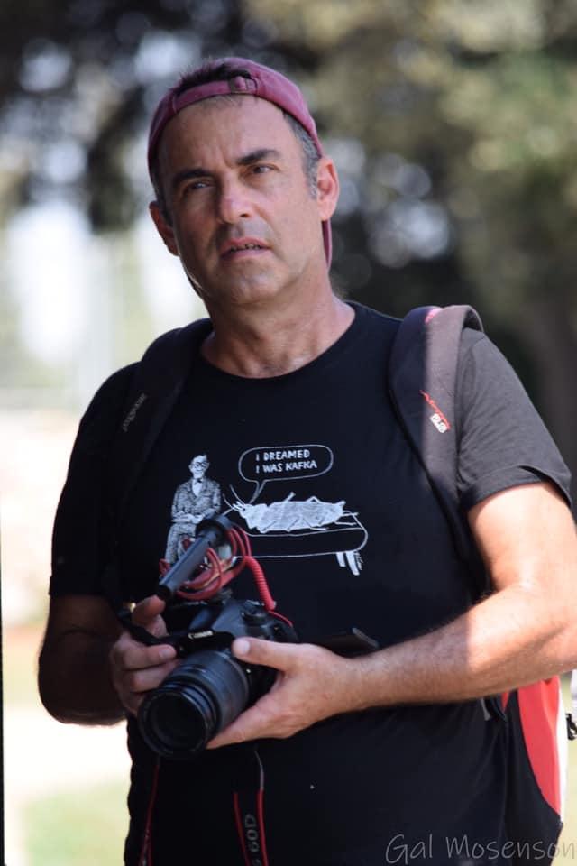 חכו, יש עוד המון מה לחשוף. יוצר הסרט, אליאב לילטי (צילום: גל מוסינזון)