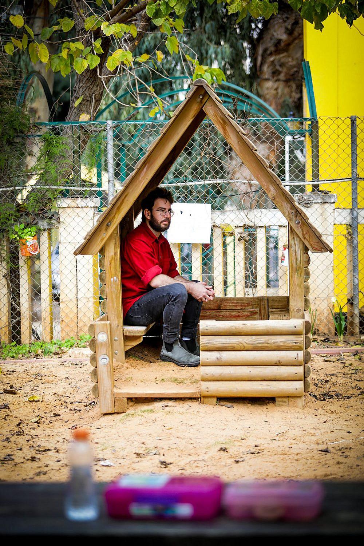 ילד, לך הביתה. ירמי שיק בלום חוזר לאשכול גנים עבודה (צילום: שלומי יוסף)