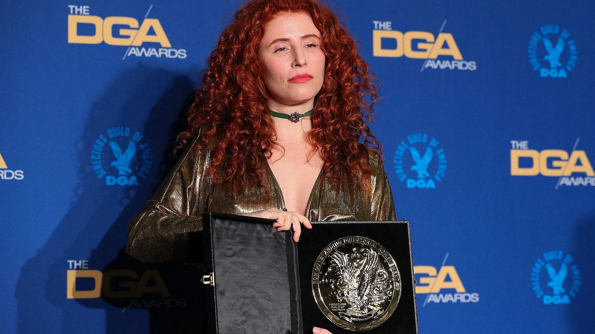עלמה הראל בטקס גילדת הבמאים האמריקאית (צילום: ג'ין בפטיסט לקרויקס, גטי אימג'ס)