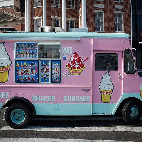 אוטו גלידה בניו יורק (צילום: שאטרסטוק)