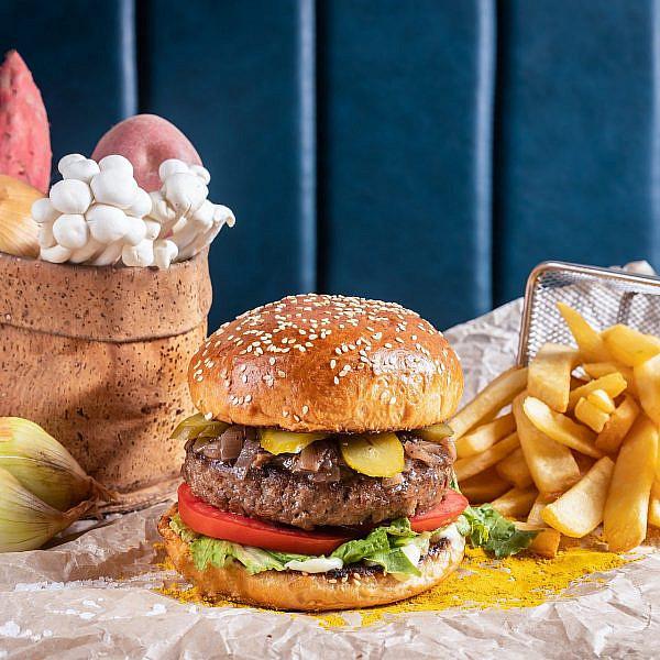 גודנס המבורגר (צילום: יהונתן בן חיים)