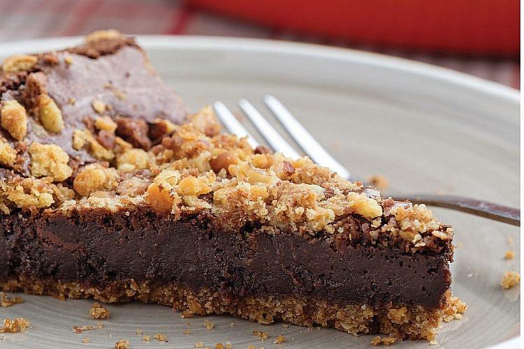טארט שוקולד בעשר דקות של לייזה פאנלים (צילום: גיא בהר וחגית ביליה)