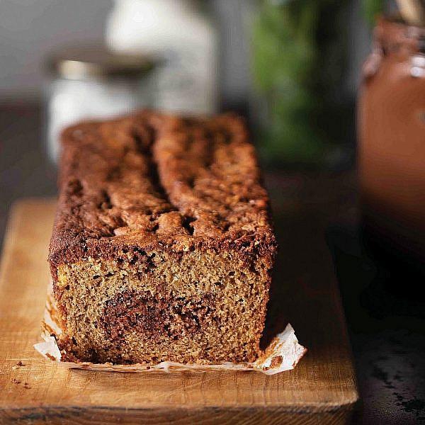 עוגת שיש מוקה נוטלה של מאיה דרין (צילום: דניאל לילה)