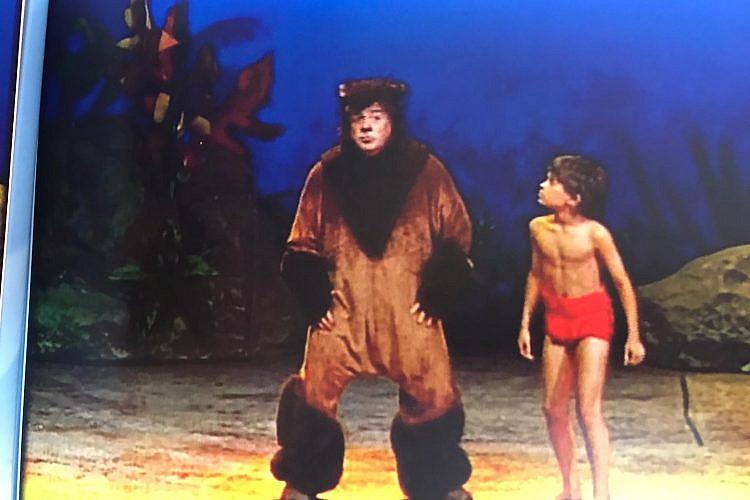 """""""ההצגה שייכת לעידן שבו עולם הפקות הילדים היה פחות ציני"""". תום אבני וטוביה צפיר ב""""ספר הג'ונגל"""""""