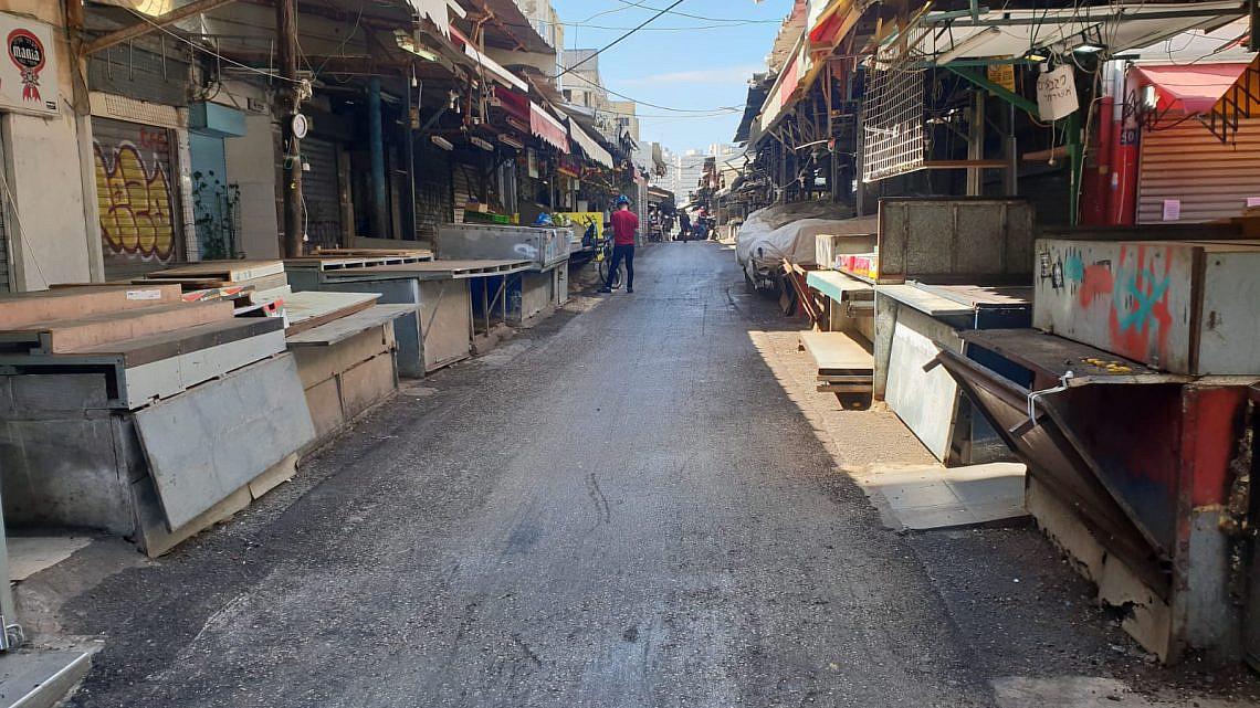 הרחוב הכי עצוב בתל אביב. שוק הכרמל, השבוע