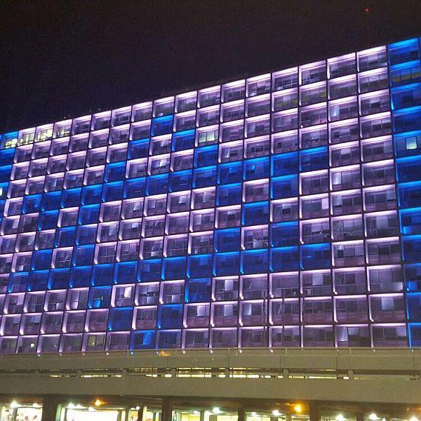 יום הזיכרון (צילום: עיריית תל אביב)