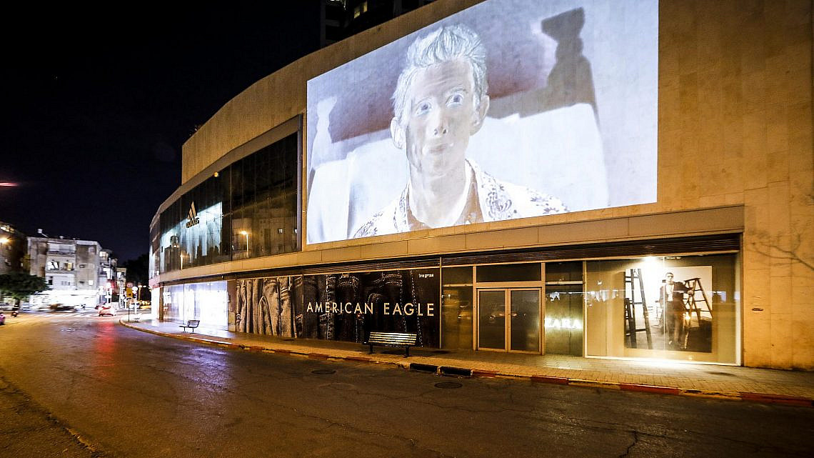 """""""דרך המרפסת"""" של מוזיאון תל אביב (צילום: גיא יחיאלי)"""