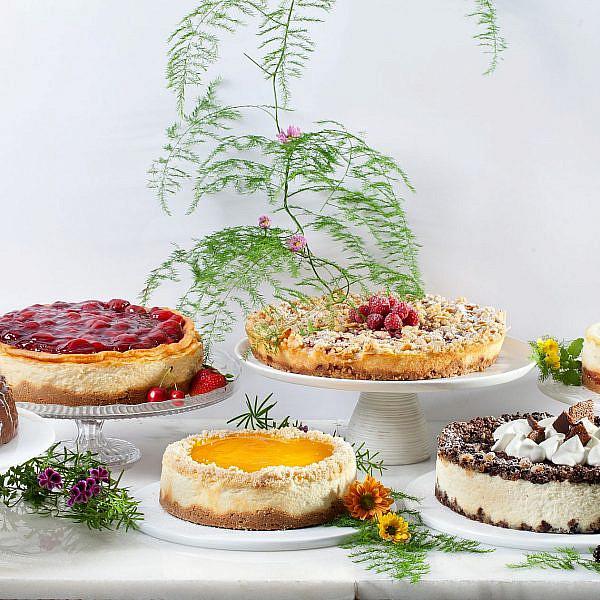 עוגות גבינה של ביסקוטי (צילום: בועז לביא)