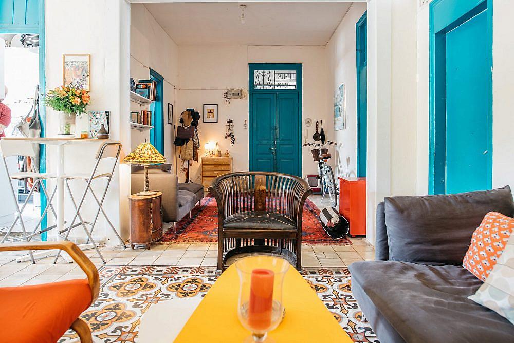 הדירה של מנו ותומר (צילום: אור עדני)