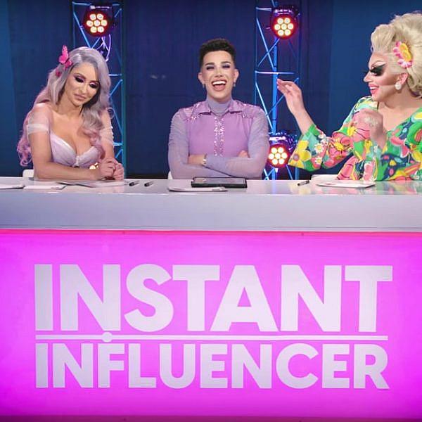 ביוטיוב כולם יכולים לשמוע אותך צורחת. Instant Influencers (צילום: יוטיוב\ג'יימס צ'ארלס)