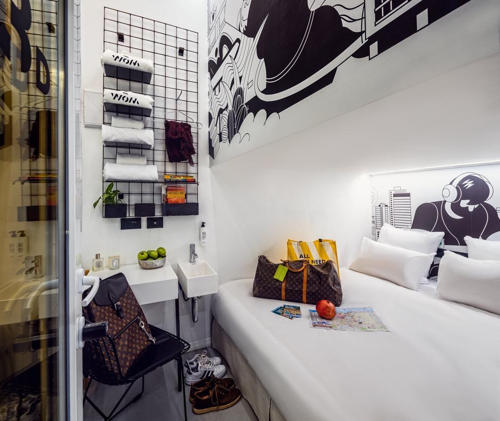 מעוצב, מעוצב ומעוצב. חדר pod במלון WOM (צילום: יחסי ציבור)