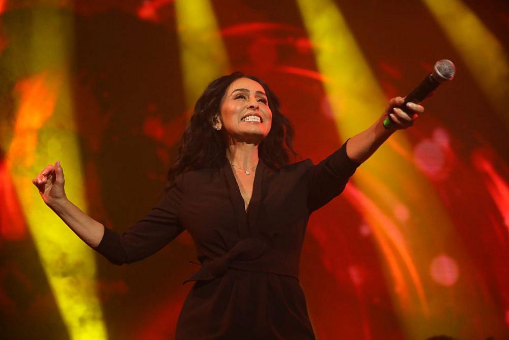 ריטה בעצרת המוזיקה בתל אביב (צילום: ערן בארי)
