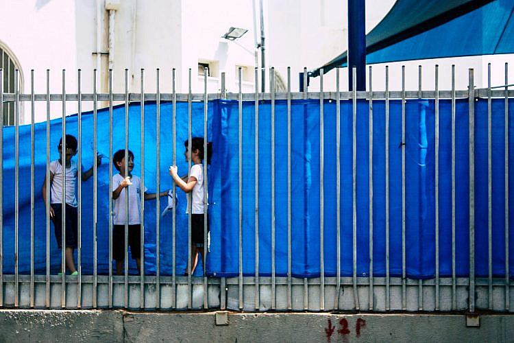"""""""בית הספר של החופש"""" לא מרחם על ילדי תל אביב (למצולמים אין קשר לכתבה. צילום: שאטרסטוק)"""