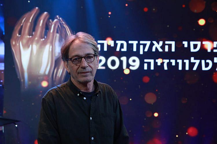"""אסף אמיר, יו""""ר האקדמיה לקולנוע וטלוויזיה (צילום: איציק בירן)"""