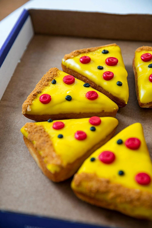 כן, דונאטס בצורת פיצה! Tlv Donuts (צילום: מנש כהן)