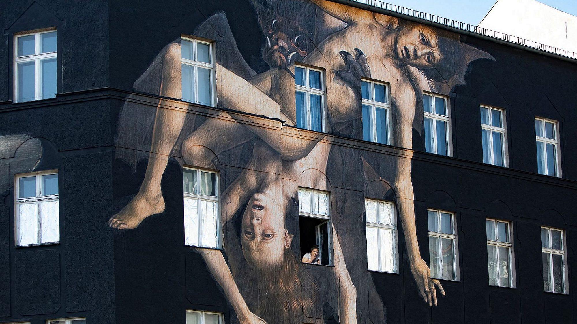 """מתוך פרויקט מרפסות """"שלום מארצות הבלקון"""". צילום: מרב מרודי, ברלין"""