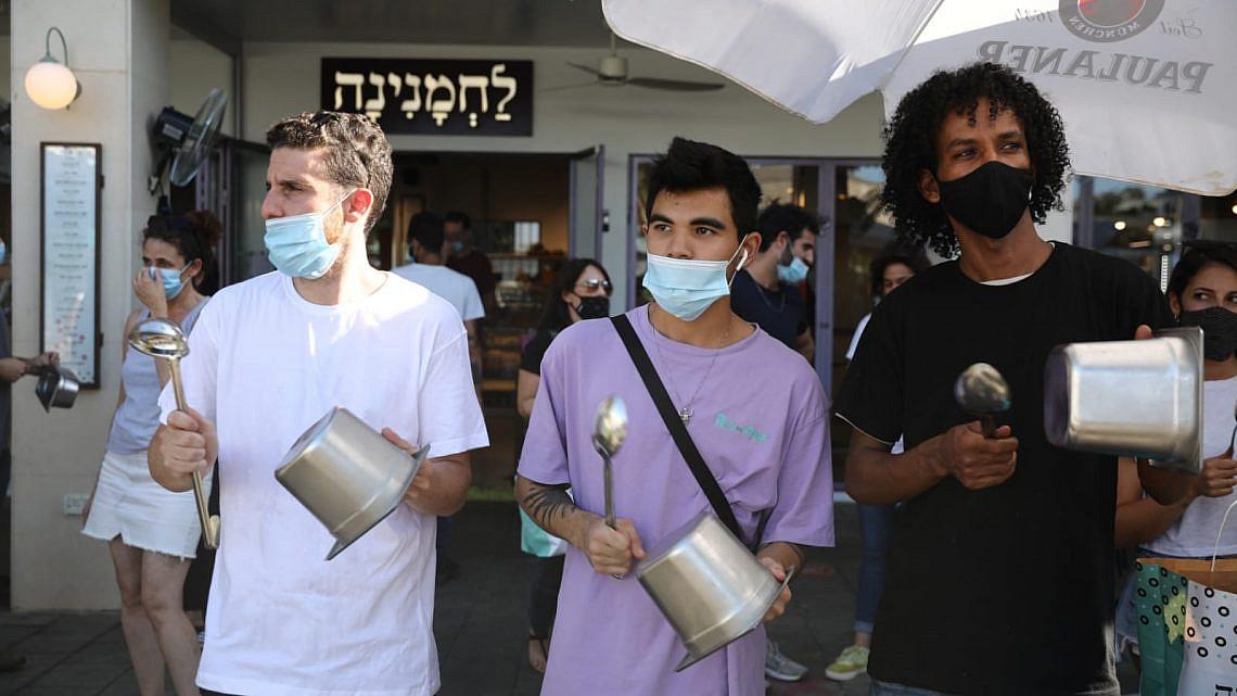 המחאה עבדה: המסעדות יישארו פתוחות עד יום שלישי (צילום: אורן זיו)