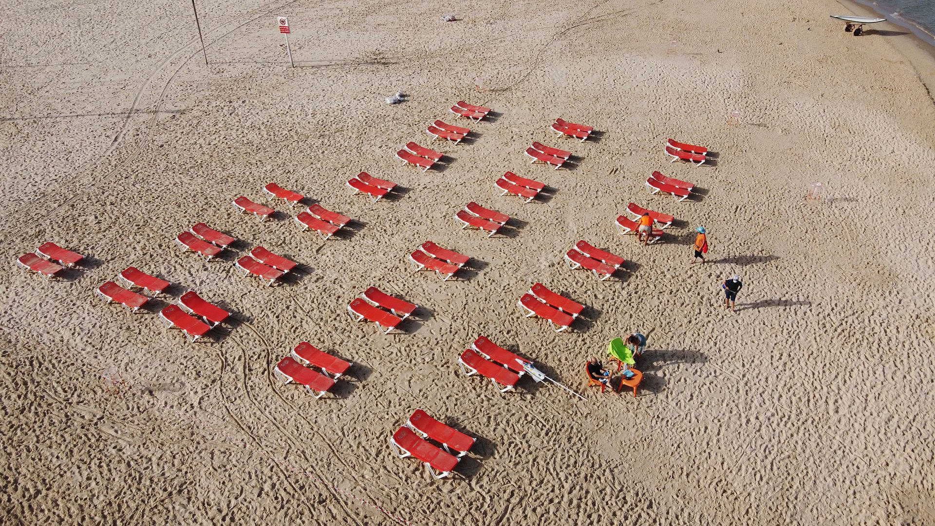 """חחחחחחח. מתווה החופים של עיריית ת""""א-יפו, כך זה אמור להיראות (צילום: שאטרסטוק)"""