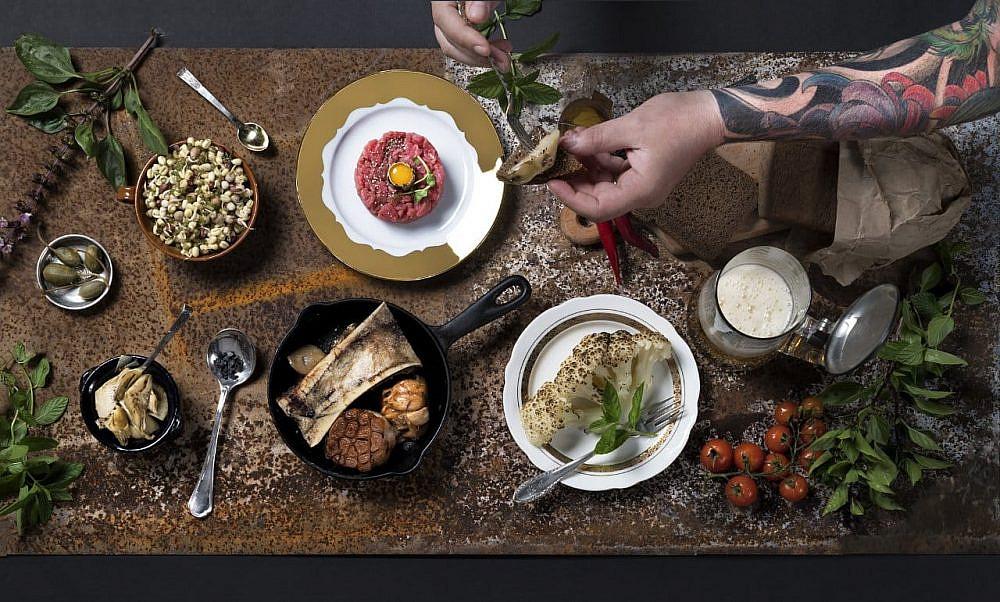 ארוחת טרואר הגולן (צילום: איל גוטמן)