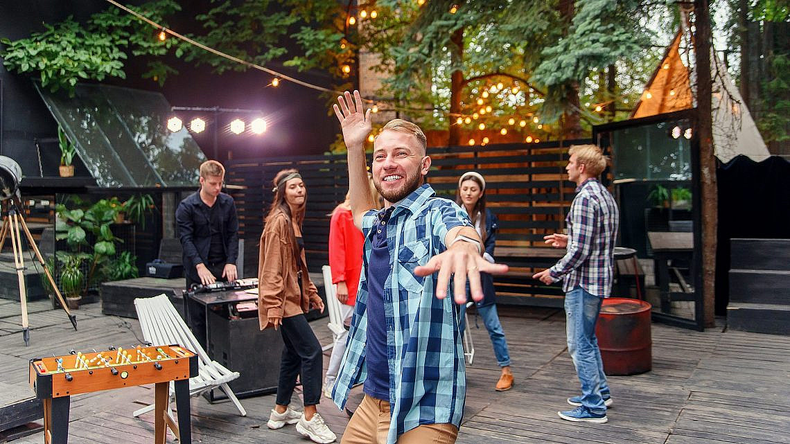 יאללה מסיבה. תרבות ופנאי פרטיים ב-Hopa (צילום: שאטרסטוק)