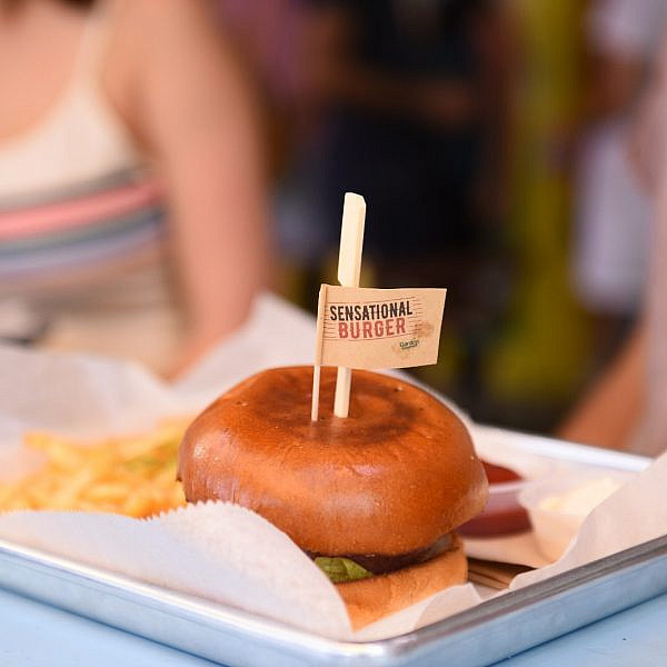 Sensational Burger (צילום: גלעד אילוז)
