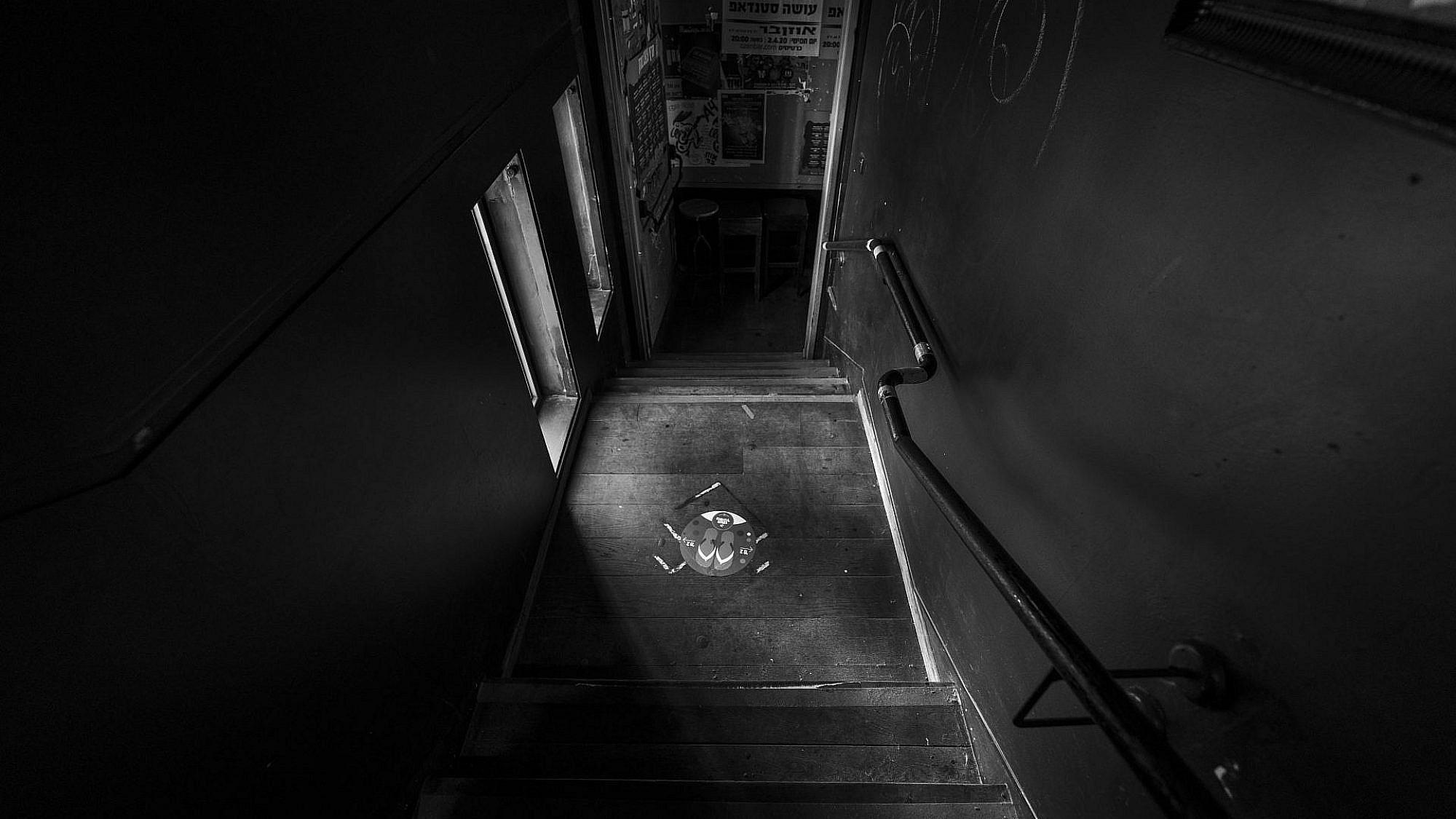 אולם ומלואו. האוזןבר בקורונה (צילום: איליה מלניקוב)