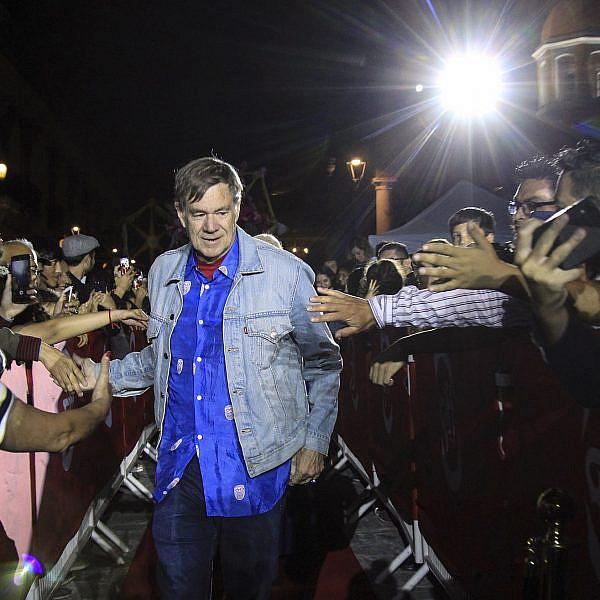 פאק הוליווד, מה רע בפורטלנד. גאס ואן סאנט בפסטיבל קולנוע במקסיקו, יולי 2019 (צילום: שאטרסטוק)