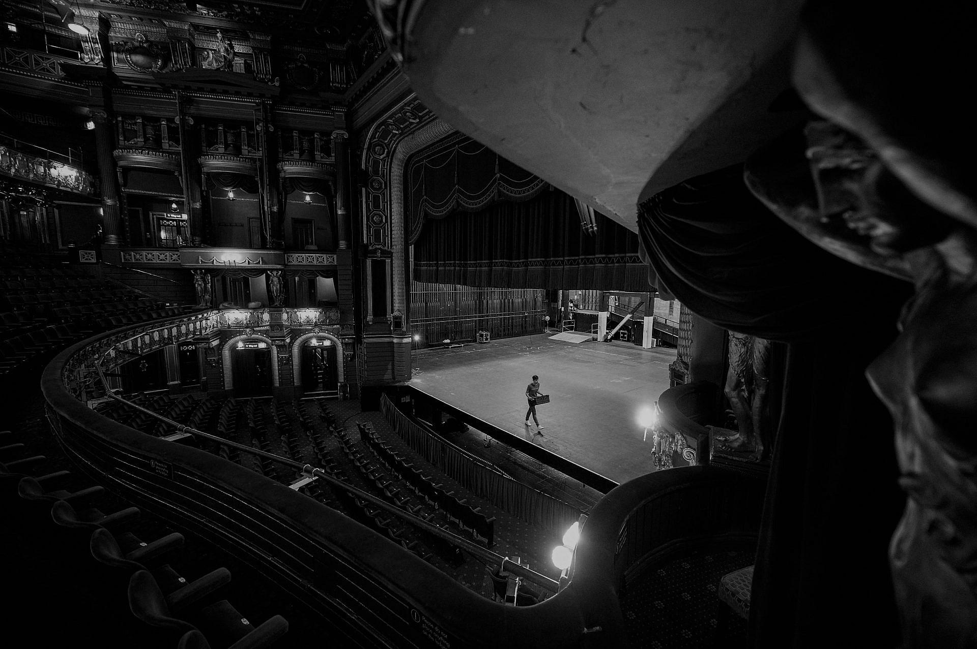 בלי קהל זה לא ילך. תיאטרון הפאלאס במנצ'סטר, אחד הנהנים מסיוע 2 מיליארד פאונד שהעניקה הממשלה לתרבות (צילום: ג'טי אימג'ס)