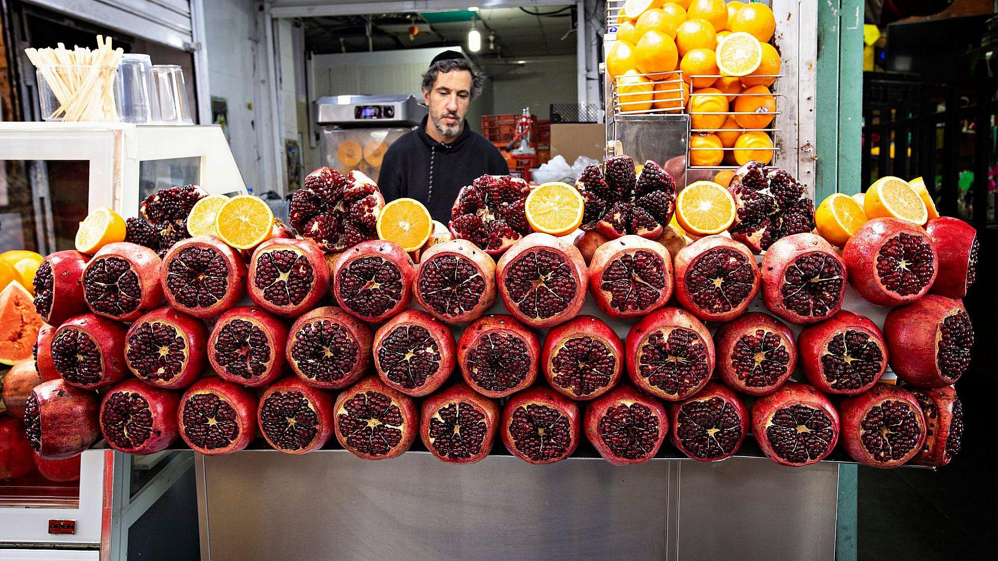 השנה ימלאו טענותיכם כרימון. שוק הכרמל (צילום: שאטרסטוק)