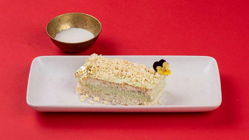 עוגת פנדן וקוקוס. נדב ודניאל (צילום: איליה מלניקוב)