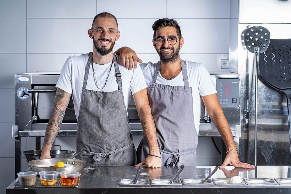 אריק דרחני ומולי מגריסו (צילום: לירן מיימון)