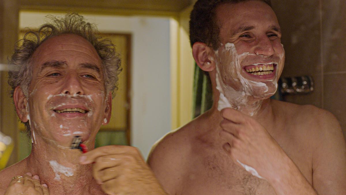 """""""הנה אנחנו"""", סרטו החדש של ניר ברגמן (צילום: שי גולדמן)"""