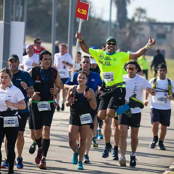 אוהבים לרוץ בדבוקה צוהלת? תשכחו מזה. מרתון סמסונג (צילום באדיבות כפיים אקטיב)