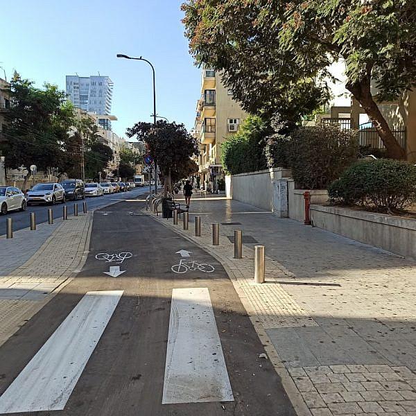 רחוב בן יהודה. בקרוב צפויות להתחיל העבודות. צילום: עיריית ת