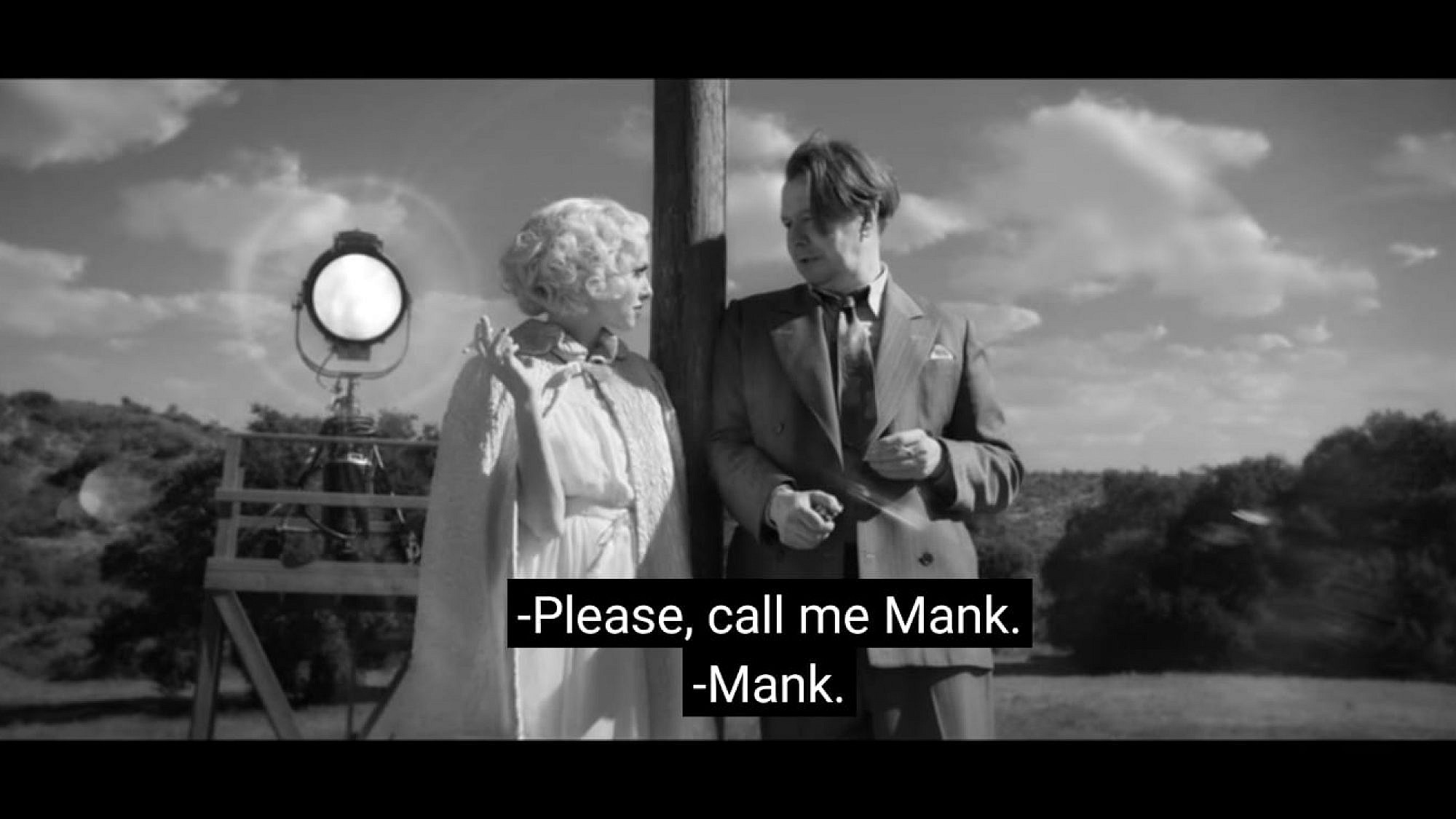 """מתוך הסרט """"מאנק"""""""