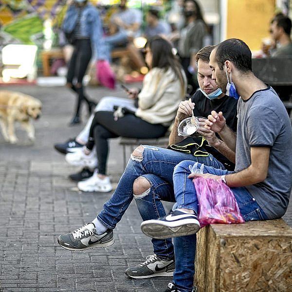 הכרמל בימי קורונה. צילום: רן בירון