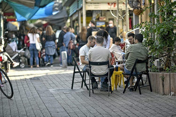 הכרמל בשישי בימי קורונה. צילום: רן בירן