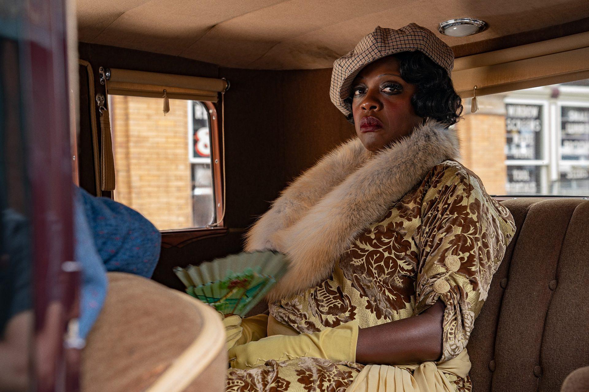 """מועמדות בטוחה לאוסקר. ויולה דיוויס ב""""הבלוז של מא רייני"""" (צילום: Netflix)"""
