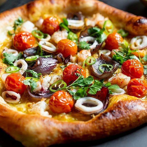הפיצה של בן נריה. צילום: יח