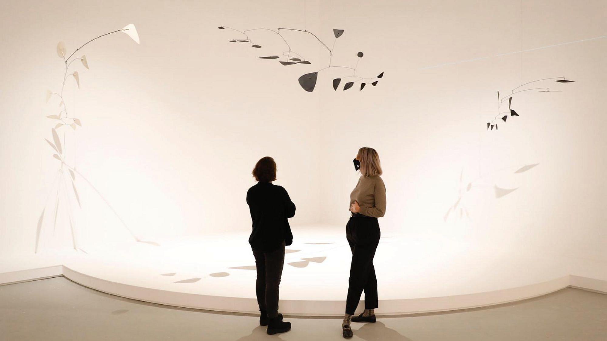תערוכה חדשה במוזיאון תל אביב (צילום: גיא יחיאלי)