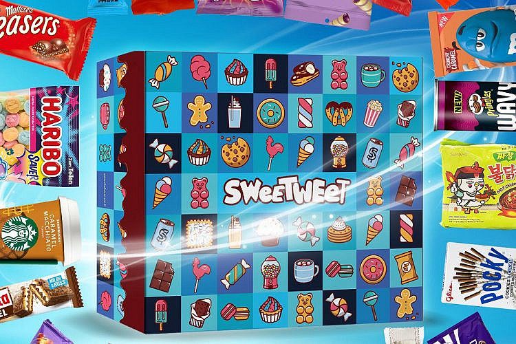 """כמו המזוודה ב""""ספרות זולה"""". סוויטבוקס מג'יק (צילום: עמוד הפייסבוק Sweetweet)"""