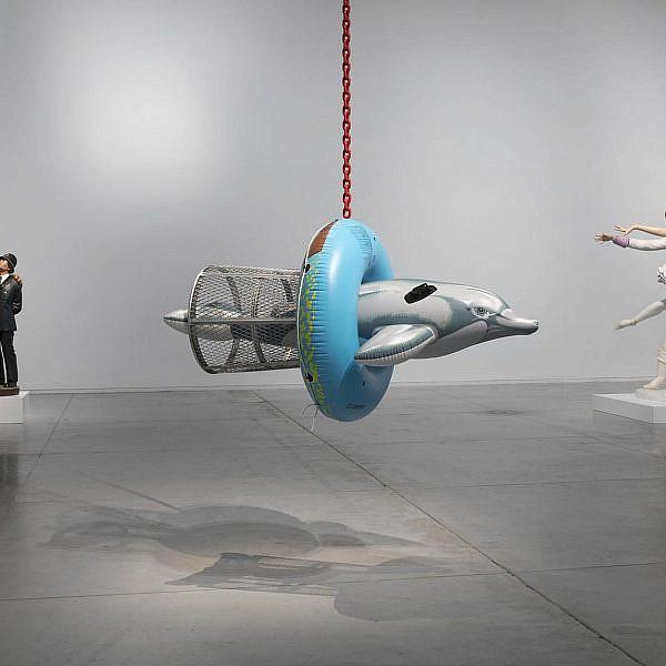 יש לכם עד ה-6 במרץ, זוזו. ג'ף קונס במוזיאון תל אביב (צילום: אלעד שריג)