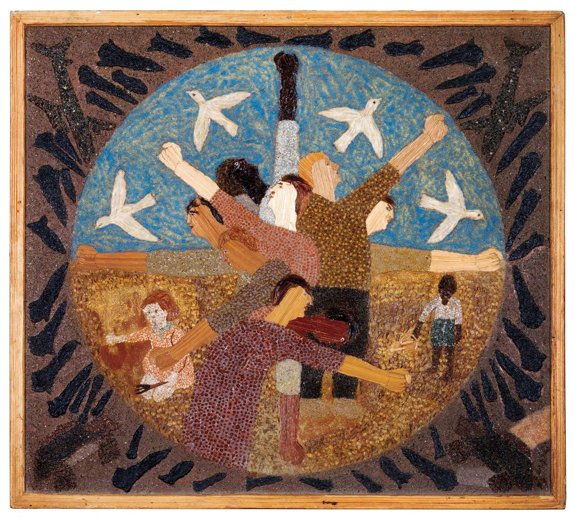 אקולוגי, מפתיע ובן 94. מתוך התערוכה של מלך ברגר, מוזיאון תל אביב (צילום: מרגריטה פלין)