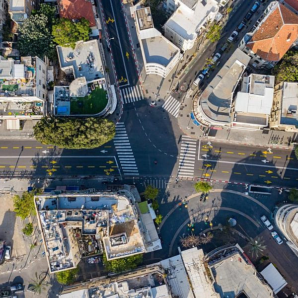 כיכר מגן דוד. מקרה בוחן. צילום: עיריית ת