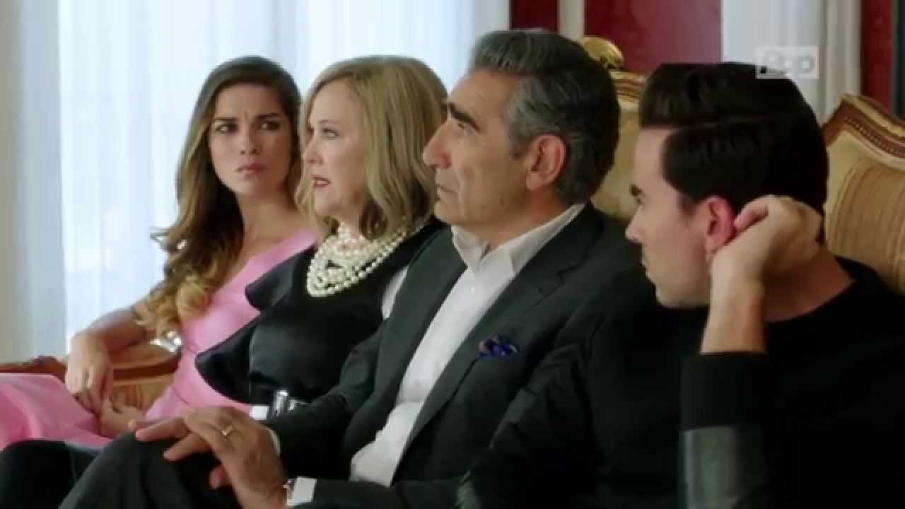 """סדרה של שחקנים ולמען שחקנים. """"שיט'ס קריק"""" בעונה הראשונה (צילום: יחסי ציבור)"""