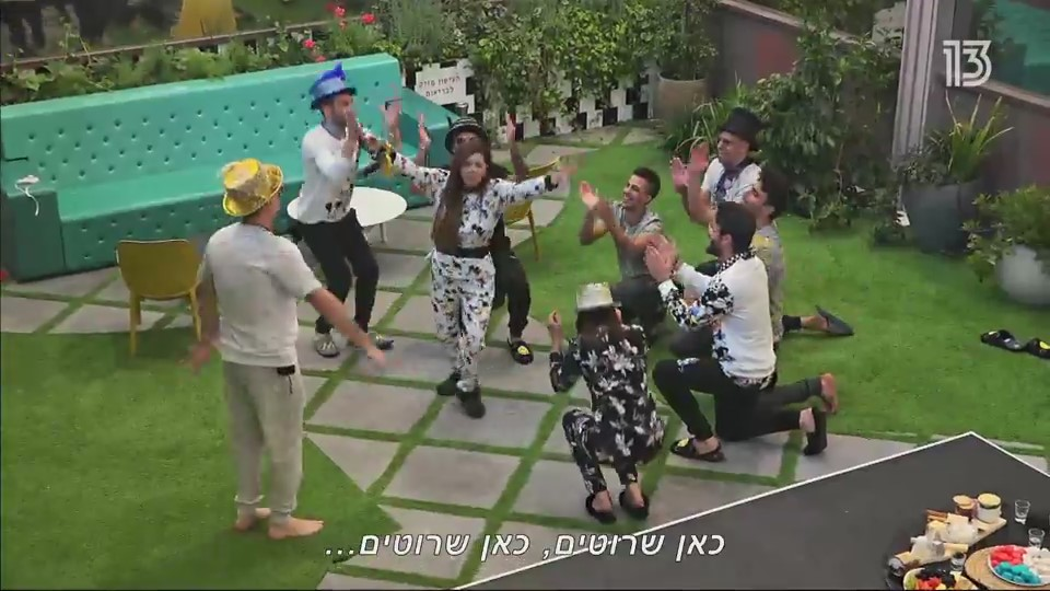 אחת העונות המקרטעות והמבולגנות בתולדות התוכנית. האח הגדול (צילום מסך: רשת 13)