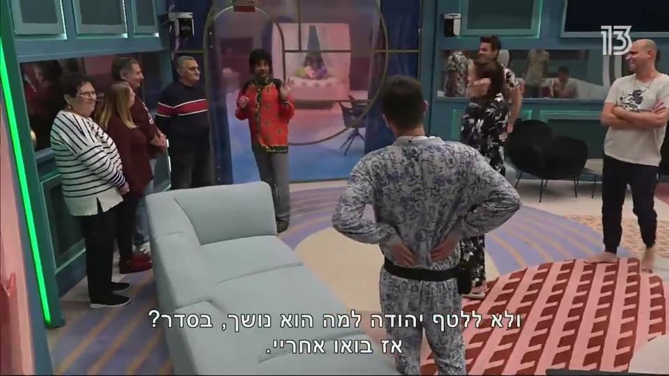 לא ללטף את החיות בכלוב, כבר אמרנו? האח הגדול (צילום מסך: רשת 13)
