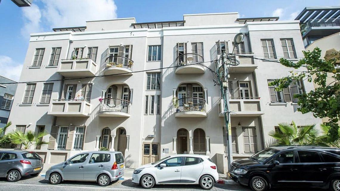 הבניין לשימור ביבנה 7, תל אביב. צילום: יורם קראוס