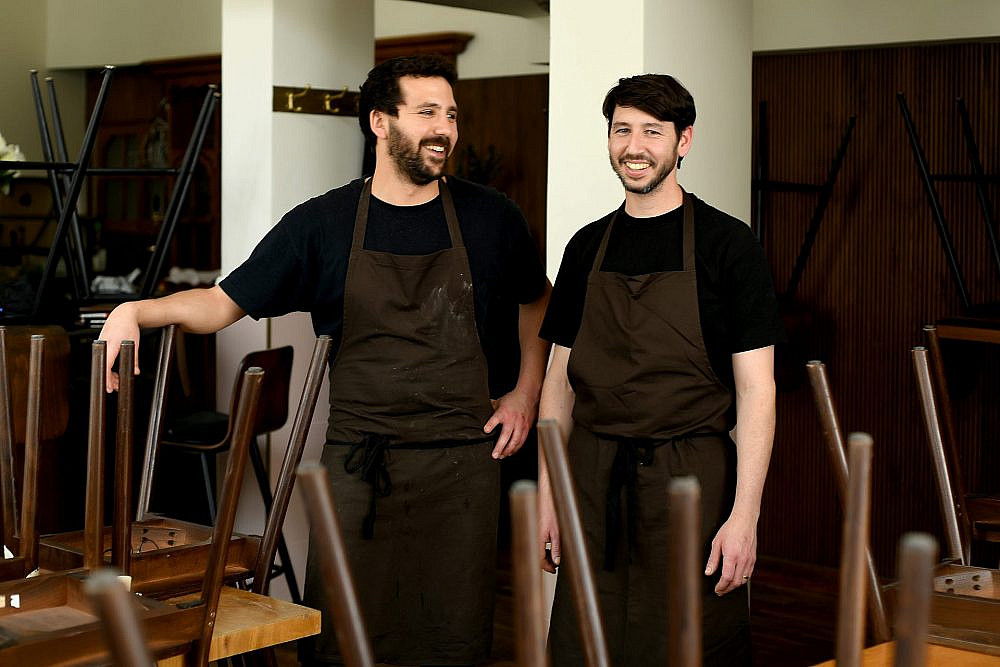 פראים שכאלה: אורי שטיינברג (מימין) ואביעד פלד (צילום: רן בירן)