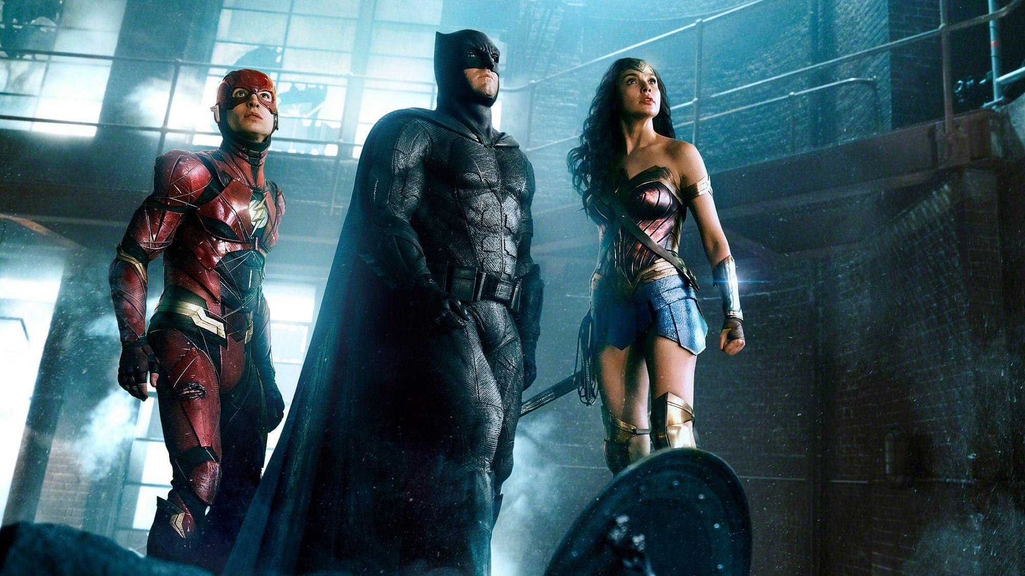 """משמאל: הדבר היחיד בסרט שאין לנו תלונות לגביו. ליגת הצדק: גרסת סניידר"""" (צילום: יחסי ציבור)"""